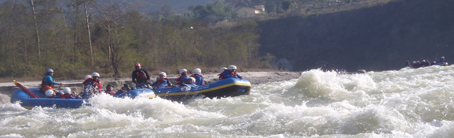 bheri river rafting in nepal