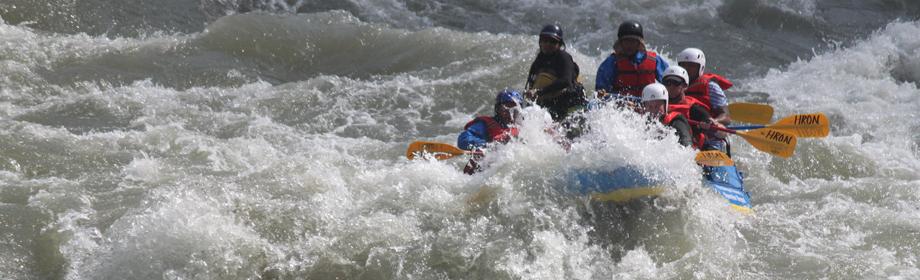sun koshi river rafting in nepal