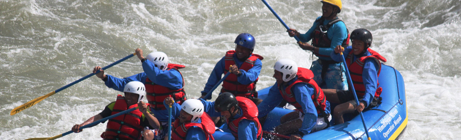 Trisuli River Rafting in Nepal